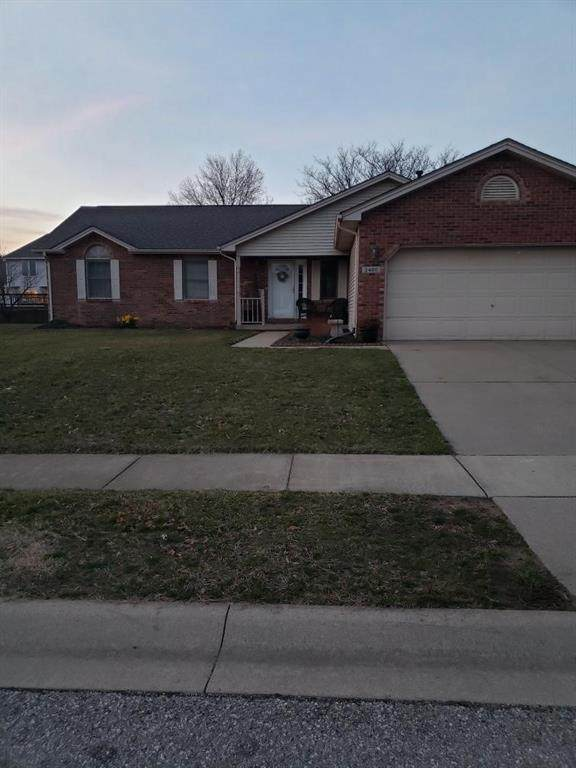 3488 Berkdale Drive, Columbus, IN 47203 (MLS #21771850) :: The Indy Property Source