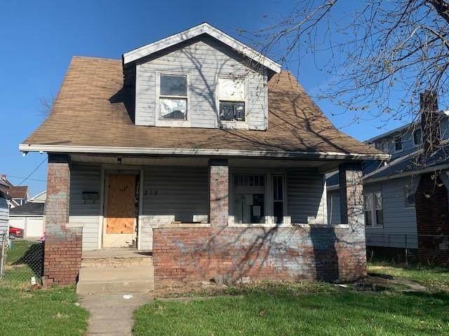 215 N Oakland Avenue #0, Indianapolis, IN 46201 (MLS #21775447) :: David Brenton's Team