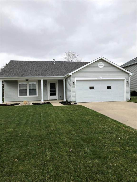 925 Springside Court, Greenfield, IN 46140 (MLS #21775827) :: Ferris Property Group