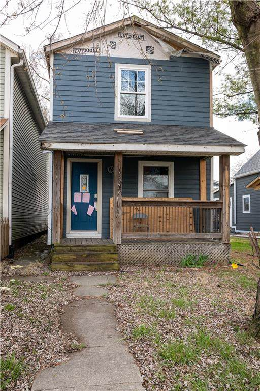1517 Ringgold Avenue, Indianapolis, IN 46203 (MLS #21775907) :: RE/MAX Legacy