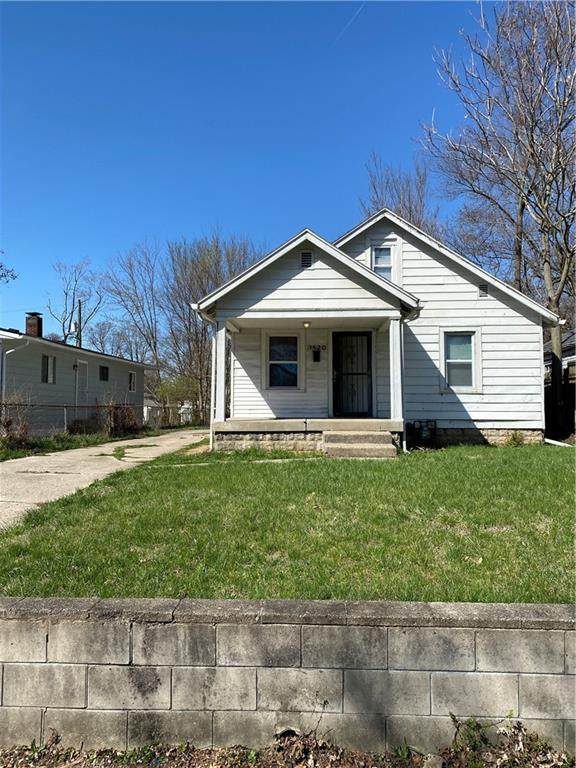 3520 Brouse Avenue, Indianapolis, IN 46218 (MLS #21776014) :: The Evelo Team