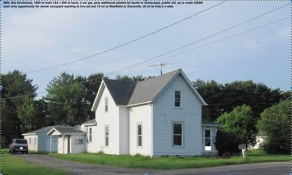 328 W Jefferson Street, Kirklin, IN 46050 (MLS #21776664) :: Pennington Realty Team
