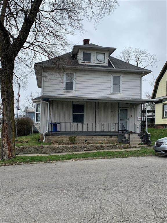 902 Vine Street, New Castle, IN 47362 (MLS #21776969) :: Mike Price Realty Team - RE/MAX Centerstone