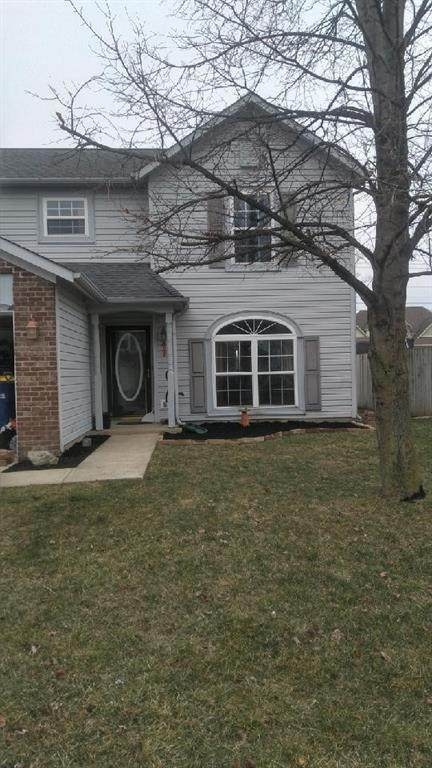 1447 Hedge Court, Greenfield, IN 46140 (MLS #21777512) :: Richwine Elite Group