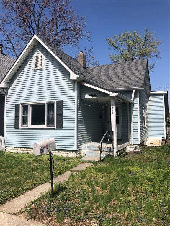 1448 Saulcy Street, Indianapolis, IN 46222 (MLS #21777764) :: The Indy Property Source