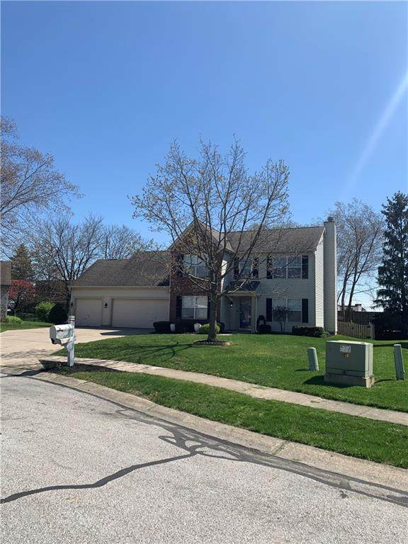 7945 Red Sunset Way, Avon, IN 46123 (MLS #21778443) :: The Indy Property Source