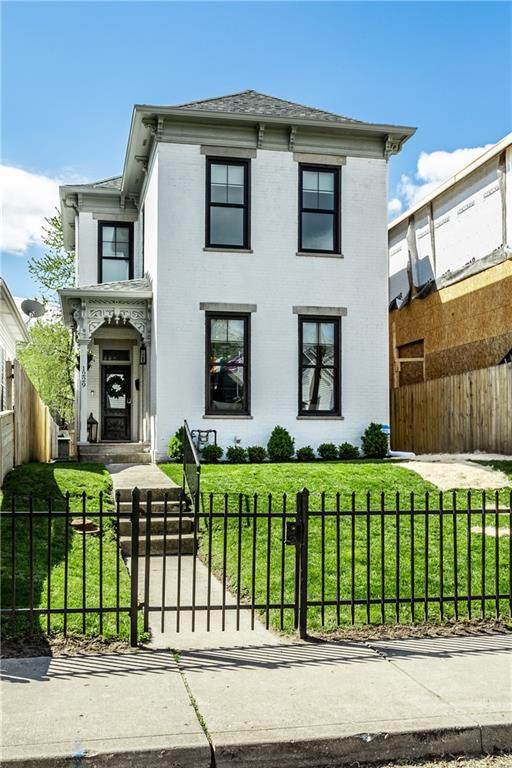 1229 Hoyt Avenue, Indianapolis, IN 46203 (MLS #21778573) :: The Indy Property Source