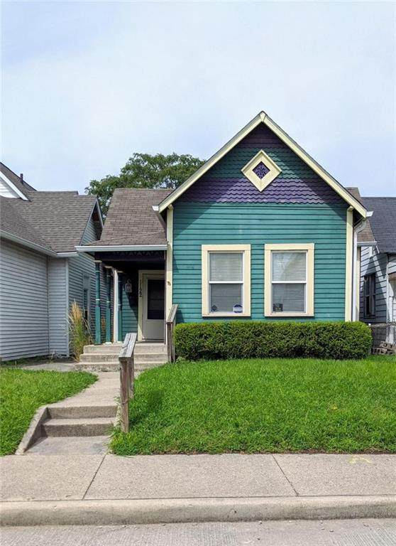 1122 S Capitol Avenue, Indianapolis, IN 46225 (MLS #21779210) :: David Brenton's Team