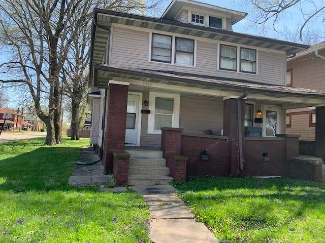 2863 N Talbott Street, Indianapolis, IN 46205 (MLS #21780731) :: Anthony Robinson & AMR Real Estate Group LLC