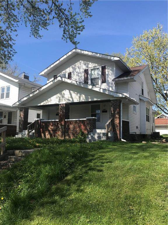 614-616 N Riley Avenue, Indianapolis, IN 46201 (MLS #21781314) :: Anthony Robinson & AMR Real Estate Group LLC