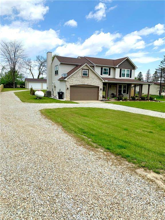 8126 W 875 S, Pendleton, IN 46064 (MLS #21782737) :: Mike Price Realty Team - RE/MAX Centerstone