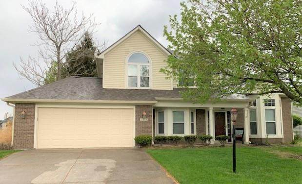 10508 Greenway Drive, Fishers, IN 46037 (MLS #21784177) :: Richwine Elite Group