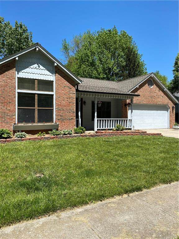 124 Banta Trail, Indianapolis, IN 46227 (MLS #21785046) :: AR/haus Group Realty