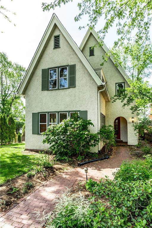 301 Buckingham Drive, Indianapolis, IN 46208 (MLS #21785840) :: RE/MAX Legacy