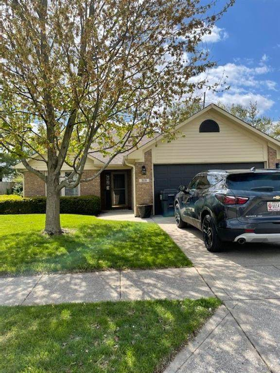 329 Polk Manor Drive, Greenwood, IN 46143 (MLS #21786809) :: Mike Price Realty Team - RE/MAX Centerstone