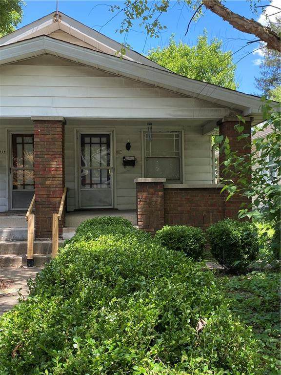 927 N Chester Avenue, Indianapolis, IN 46201 (MLS #21793489) :: Dean Wagner Realtors