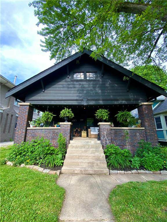4337 N College Avenue, Indianapolis, IN 46205 (MLS #21793530) :: AR/haus Group Realty