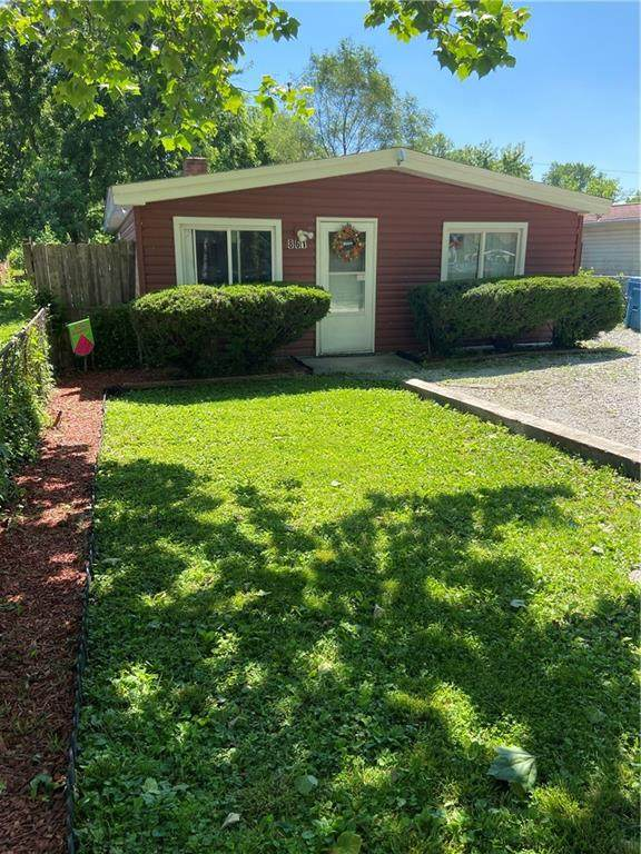 861 Woodrow Avenue, Indianapolis, IN 46241 (MLS #21794223) :: Anthony Robinson & AMR Real Estate Group LLC