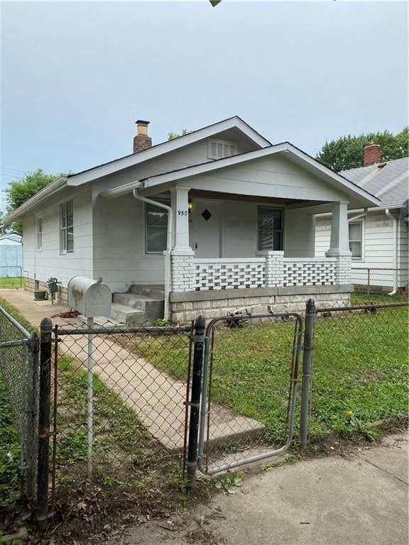 950 N Somerset Avenue, Indianapolis, IN 46222 (MLS #21794731) :: Heard Real Estate Team   eXp Realty, LLC