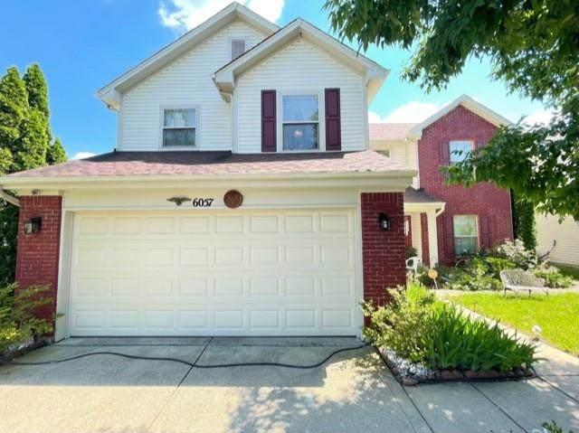 6057 Lakeside Manor Avenue, Indianapolis, IN 46254 (MLS #21794772) :: David Brenton's Team