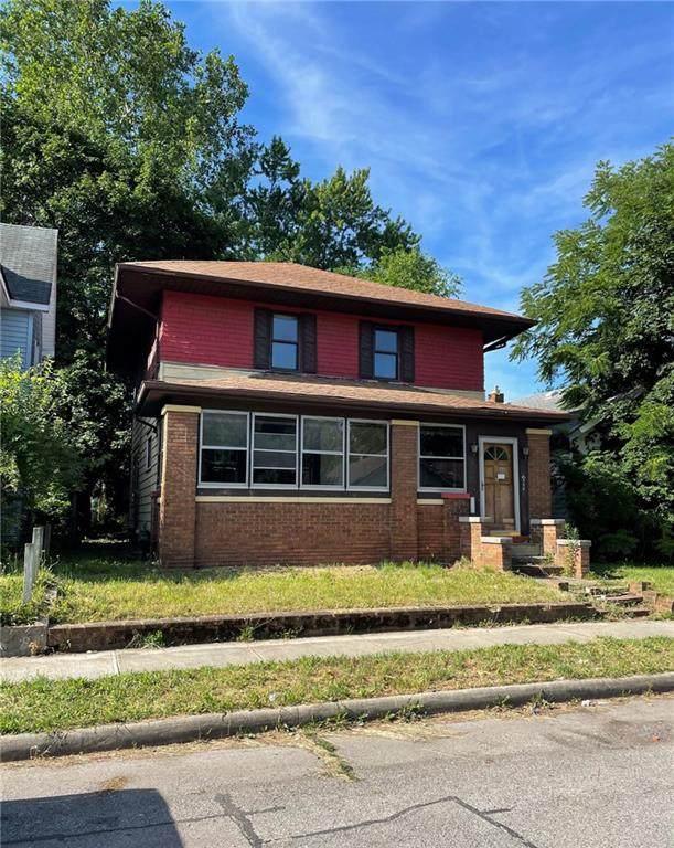 339 W 6th Street, Anderson, IN 46016 (MLS #21796164) :: Dean Wagner Realtors