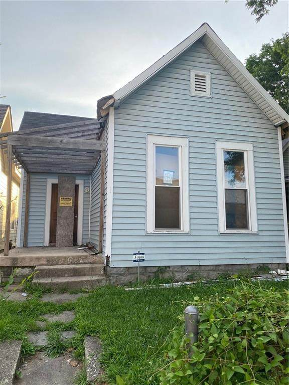 1618 S Delaware Street, Indianapolis, IN 46225 (MLS #21796289) :: Anthony Robinson & AMR Real Estate Group LLC