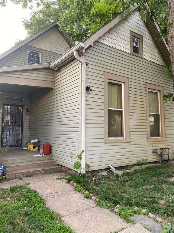 1614 S Delaware Street, Indianapolis, IN 46225 (MLS #21796290) :: Anthony Robinson & AMR Real Estate Group LLC