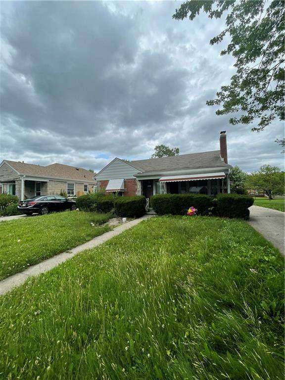 1429 N Butler Street, Indianapolis, IN 46219 (MLS #21797204) :: The Indy Property Source