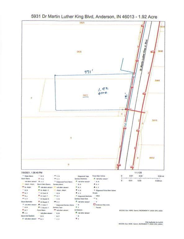 5931 Dr Mlk Jr Boulevard, Anderson, IN 46013 (MLS #21797300) :: AR/haus Group Realty