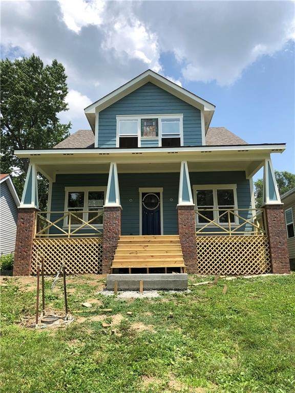 1121 N Hamilton Avenue, Indianapolis, IN 46201 (MLS #21797968) :: The Indy Property Source
