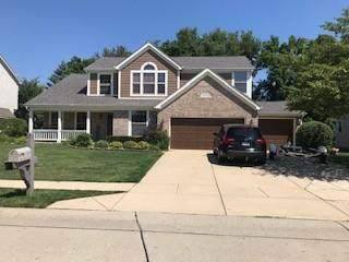 10836 Pine Bluff Drive, Fishers, IN 46037 (MLS #21798003) :: AR/haus Group Realty