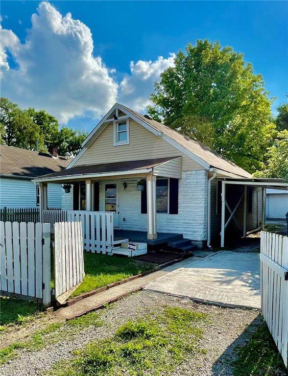 1046 S Worth Avenue, Indianapolis, IN 46241 (MLS #21798033) :: The Evelo Team