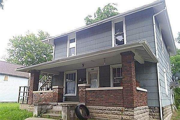 233 W 4th Street, Anderson, IN 46016 (MLS #21799014) :: The Indy Property Source