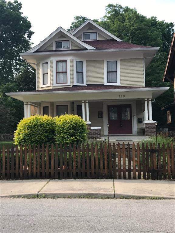 210 E 33rd Street, Indianapolis, IN 46205 (MLS #21802111) :: Heard Real Estate Team | eXp Realty, LLC