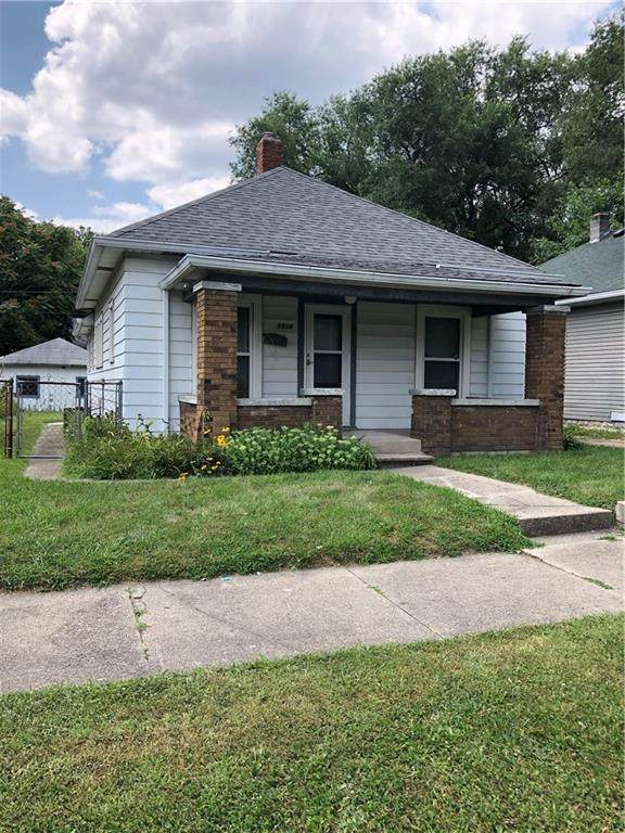 1314 N Warman Avenue, Indianapolis, IN 46222 (MLS #21803983) :: The Evelo Team