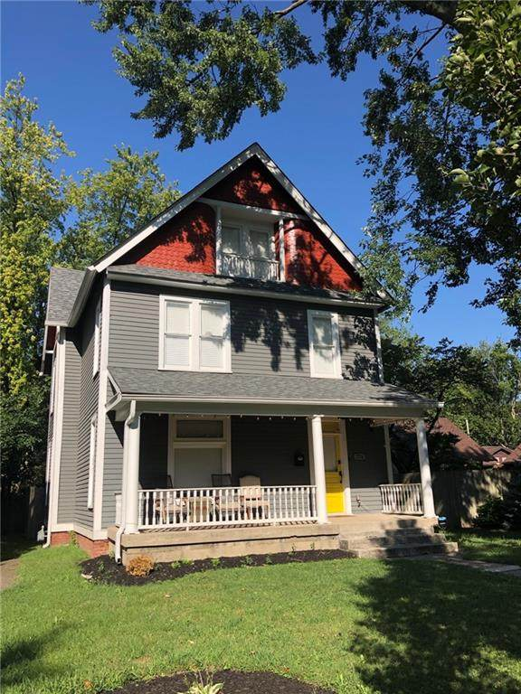 774 Woodruff Place Drive E, Indianapolis, IN 46201 (MLS #21804822) :: Pennington Realty Team