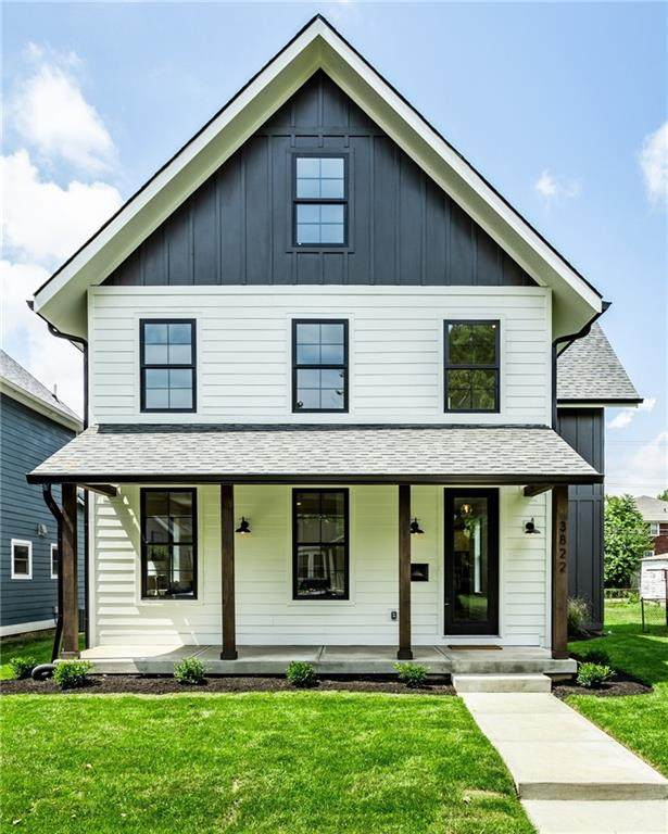 3822 Ruckle Street, Indianapolis, IN 46205 (MLS #21806828) :: The Evelo Team
