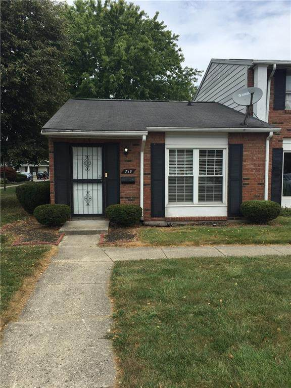 718 Ferndale Court, Indianapolis, IN 46227 (MLS #21806856) :: JM Realty Associates, Inc.