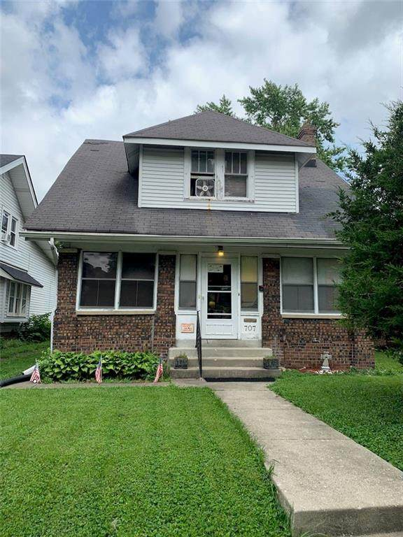 707 Dequincy Street, Indianapolis, IN 46201 (MLS #21808660) :: Ferris Property Group