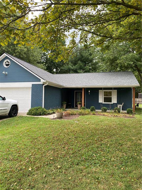 8050 Hollow Creek Court, Indianapolis, IN 46268 (MLS #21810109) :: Richwine Elite Group