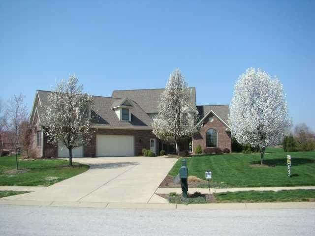 1868 Water Oak Court, Avon, IN 46123 (MLS #21810445) :: Mike Price Realty Team - RE/MAX Centerstone
