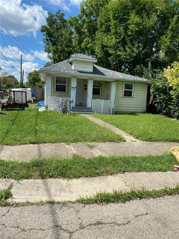3302 N Whittier Place, Indianapolis, IN 46218 (MLS #21810661) :: The Evelo Team