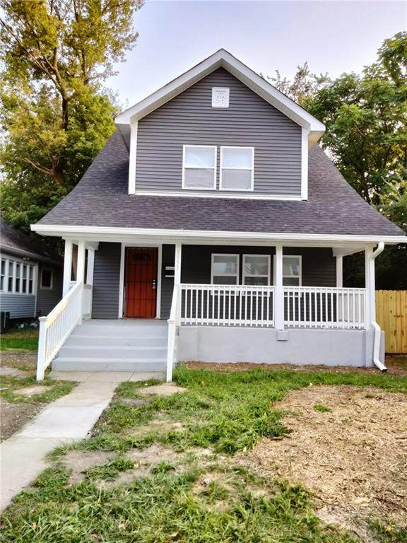 1053 W 32nd Street, Indianapolis, IN 46208 (MLS #21812538) :: Ferris Property Group