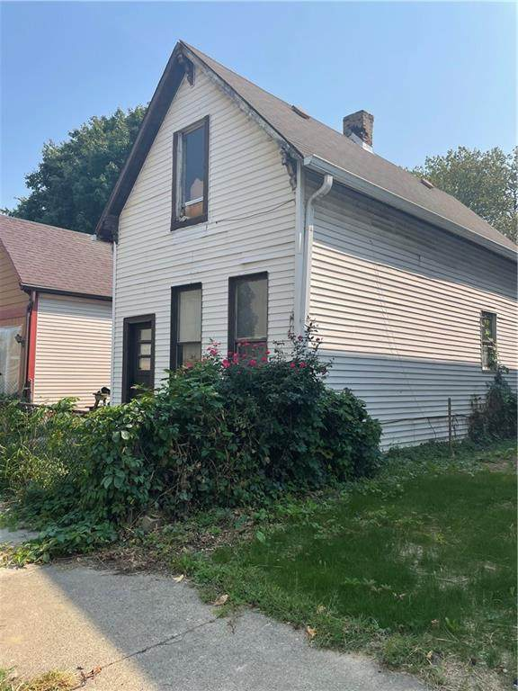 1009 N Harrison Street, Indianapolis, IN 46202 (MLS #21812827) :: Heard Real Estate Team | eXp Realty, LLC