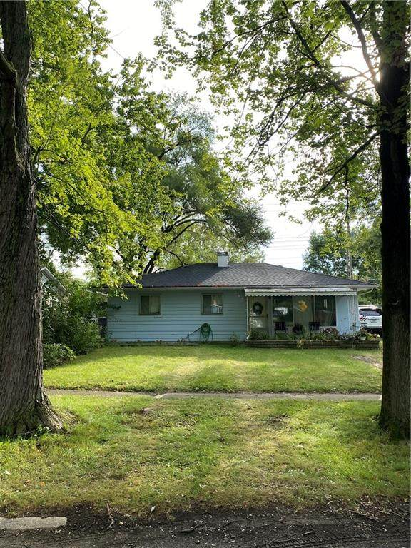 2707 Eagledale Drive, Indianapolis, IN 46222 (MLS #21813346) :: Mike Price Realty Team - RE/MAX Centerstone