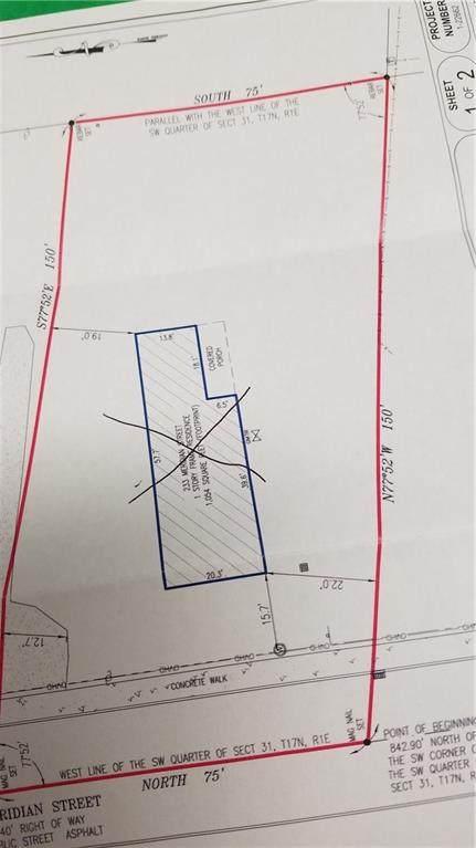 233 N Meridian Street, Pittsboro, IN 46167 (MLS #21814271) :: The Indy Property Source