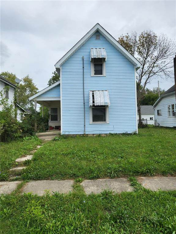1112 S 19th Street, New Castle, IN 47362 (MLS #21817173) :: Mike Price Realty Team - RE/MAX Centerstone