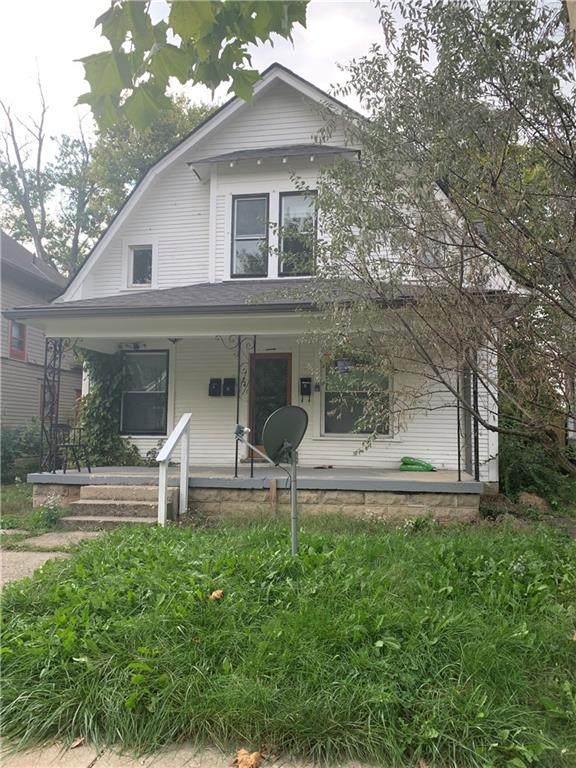 24 S Hawthorne Lane, Indianapolis, IN 46219 (MLS #21817508) :: Dean Wagner Realtors