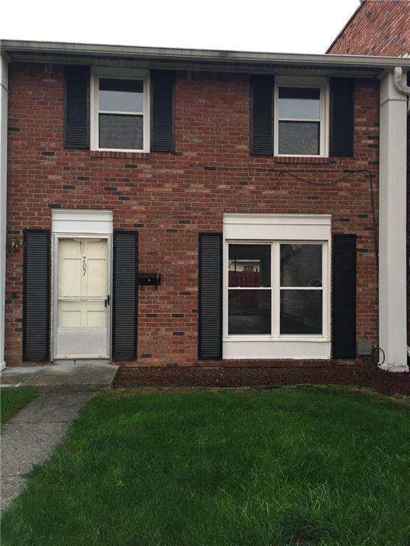 707 Ferndale Court, Indianapolis, IN 46227 (MLS #21818279) :: JM Realty Associates, Inc.