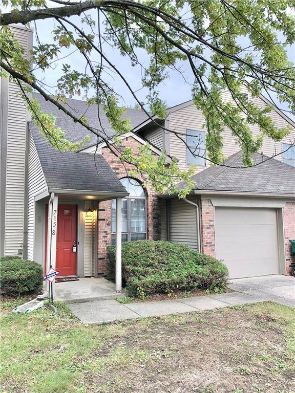 7158 Eagle Cove N Drive, Indianapolis, IN 46254 (MLS #21819117) :: Mike Price Realty Team - RE/MAX Centerstone